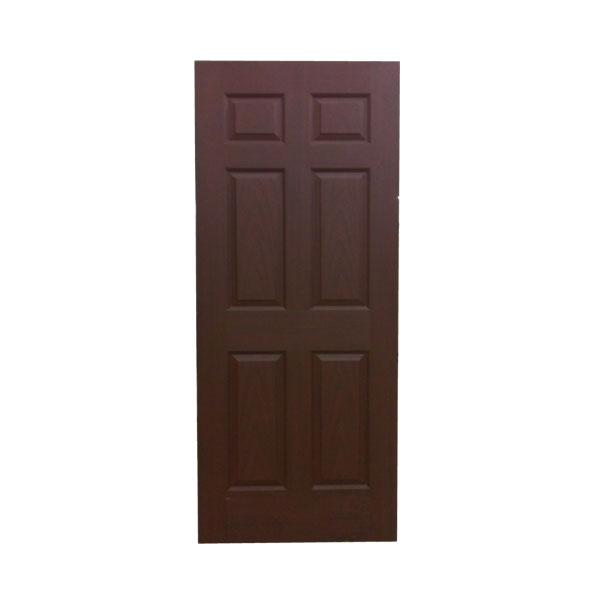 BH Walnut 6 panel Door