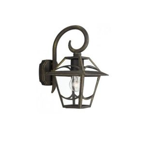 Babylon Wall Lantern BlackBrush 1x60W