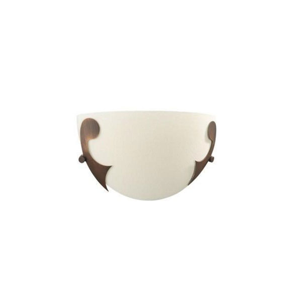 SIENNA Wall Lamp BrownBrush 1x15W 230V